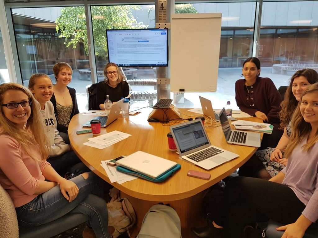 Publishing a brand new article on Wikipedia in a real world application of teaching & learning is hugely motivating and rewarding. Reproductive Biology Hons. students at the University of Edinburgh in Sept. 2017 (Own work, CC-BY-SA)