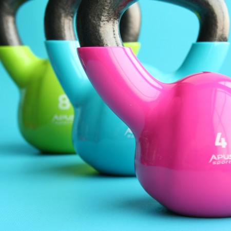 Slimming Exercise Gym Dumbbell Kettlebells