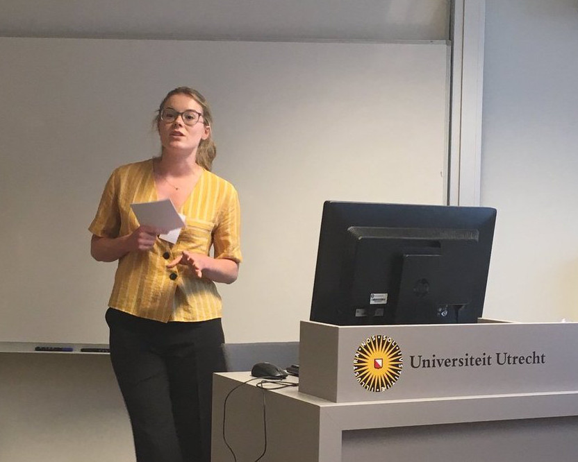 Sarah at conference1