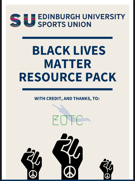 Image of the Edinburgh University Student Union Black Lives Matter Resource Pack